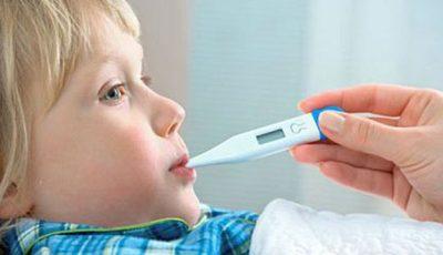 Ce să nu faci când copilul are febră!