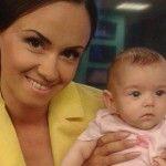 Foto: Lucia Roşca este însărcinată pentru a doua oară