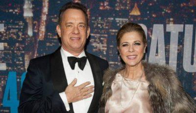 Soţia lui Tom Hanks diagnosticată cu cancer la sân