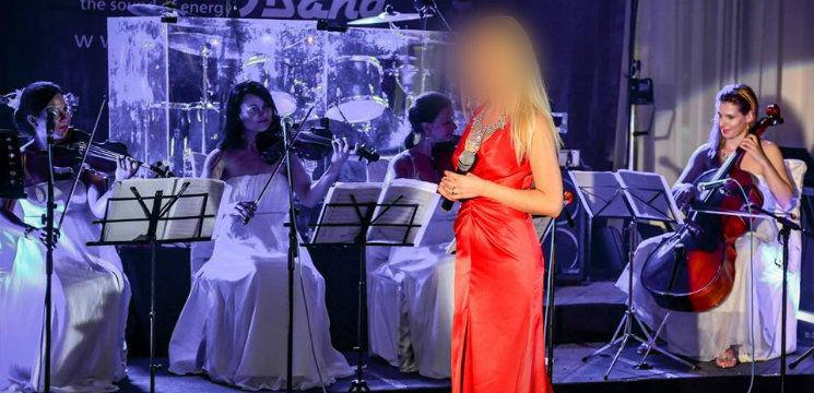 Foto: O soprană din Moldova s-a filmat într-un serial românesc