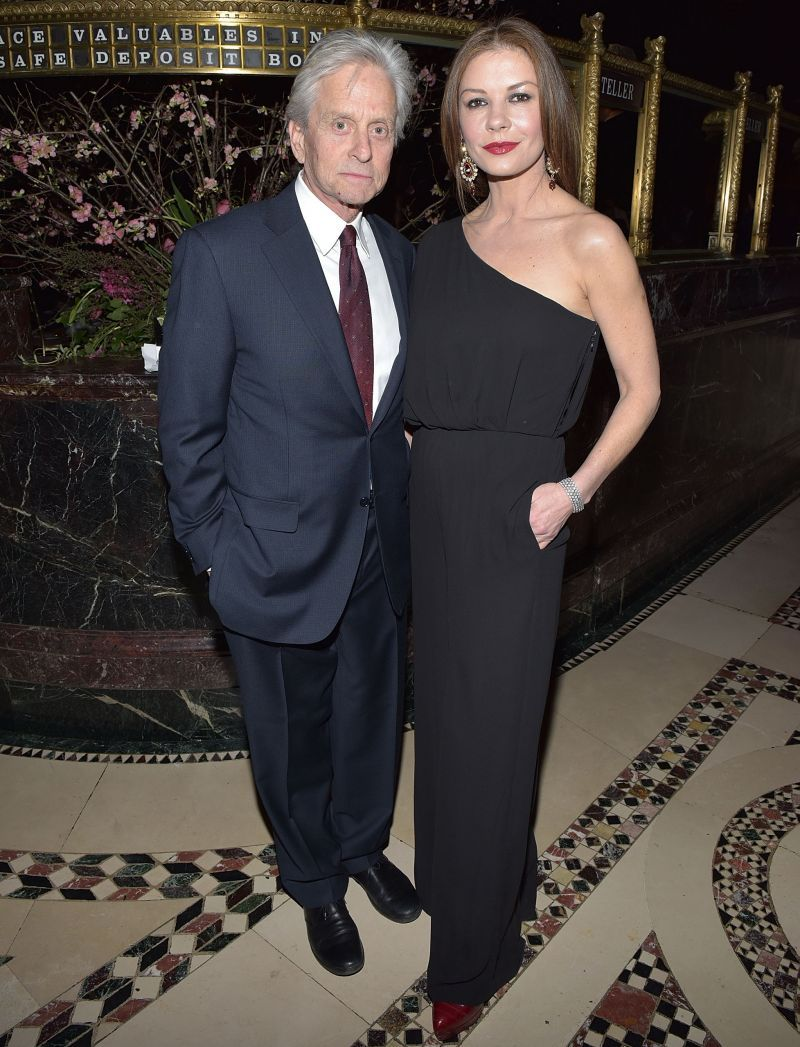 Michael Douglas și Catherine Zeta-Jones