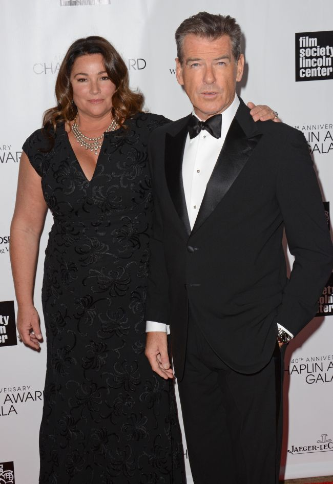 Pierce Brosnan si Keely Shaye Smith