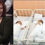 Foto: La 65 de ani, are 13 copii și este însărcinată cu cvadrupleți