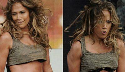 Cum arată abdomenul vedetei Jennifer Lopez în realitate!