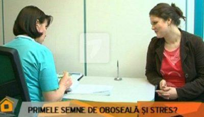 Daniela Dulap acuză dureri de stomac