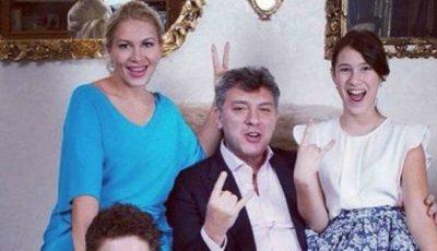 Fiica lui Boris Nemţov şi-a făcut debutul în modeling