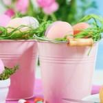 """Foto: Idei """"stilate"""" pentru decorarea mesei de Paște!"""
