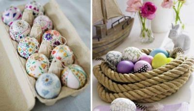 Și ouăle de Paște pot fi la modă!