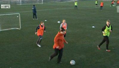 Ana Barduc slăbeşte alergând și marcând goluri