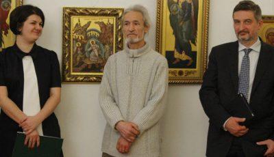 Pictorul Constantin Musteață își vinde icoanele. Cât costă?!