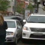 Foto: Aura, implicată într-un accident rutier. Iată ce a pățit!