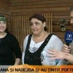 Foto: Ana și Nadejda au împușcat în mâncărurile grase și copioase!