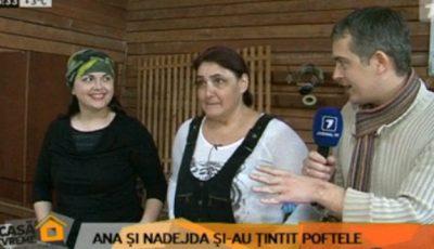 Ana și Nadejda au împușcat în mâncărurile grase și copioase!