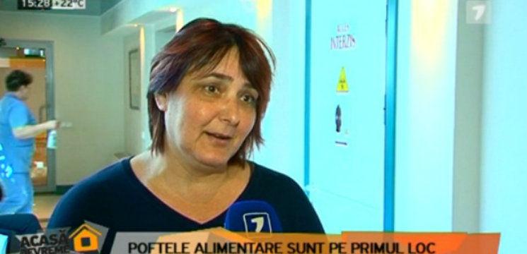 Foto: Nadejda Moscovici nu se împacă cu regulile instructorului