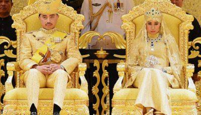 Nuntă de 100 de milioane de dolari organizată de sultanul din Brunei!