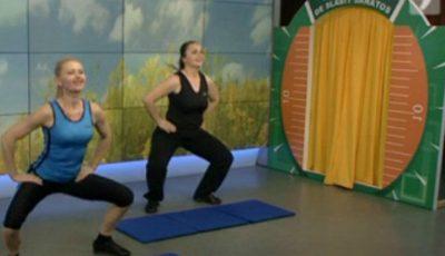 Şapte exerciții pentru fese fără celulită!