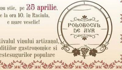 StarNet te invită la Festivalul vinului artizanal, al tradițiilor gastronomice și meșteșugurilor populare