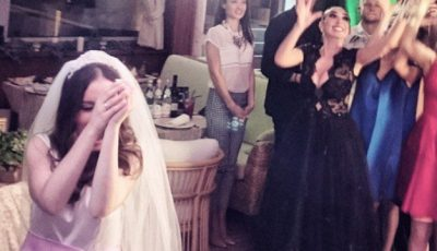 Primele poze de la nunta Victoriei Daineko