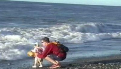 Toți copiii își consideră tații supereroi, iar acest video confirmă afirmația