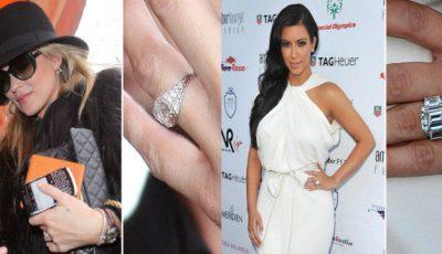 Inelele de logodnă ale celebrităţilor, cum arată şi cât valorează