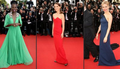 S-au întrecut în extravaganță! Ținutele vedetelor de pe covorul roşu de la Cannes 2015