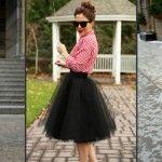 Foto: Poartă fusta din tul în 50 de moduri diferite!