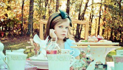 Proiect foto impresionant, realizat de un fotograf cu fiica sa