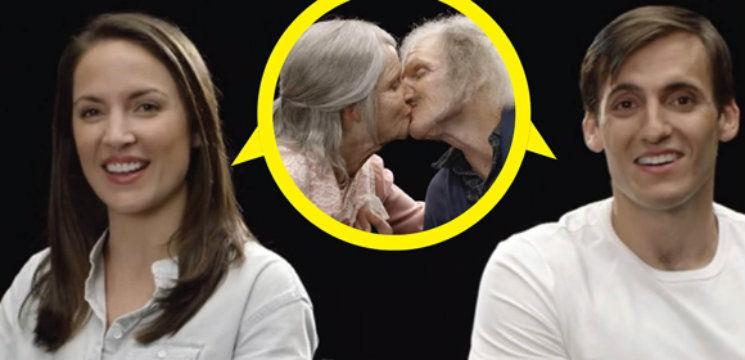 Foto: Înainte să facă nunta au verificat cum vor arăta la bătrânețe!