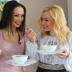 Foto: Fiica Corneliei Ștefăneț adoră supa cremă de legume