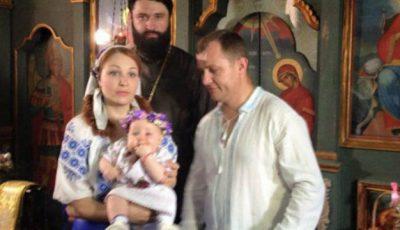 Aurel Chirtoacă şi-a botezat fiica