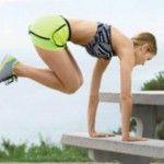 Foto: Exerciţii pe care le poţi face în parc, pe bancă!