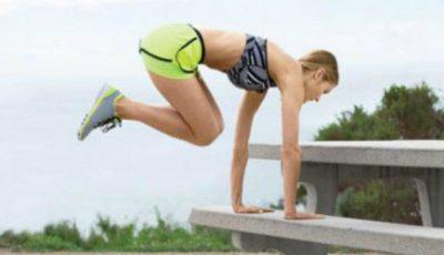 Exerciţii pe care le poţi face în parc, pe bancă!