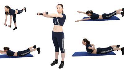 Patru exerciții pentru o ținută frumoasă!