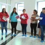 """Foto: Numele participantelor proiectului """"Slăbeşte Sănătos"""""""