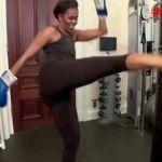 Foto: Michelle Obama la antrenamente! Video