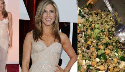 Ce mănâncă Jennifer Aniston la prânz şi dejun?