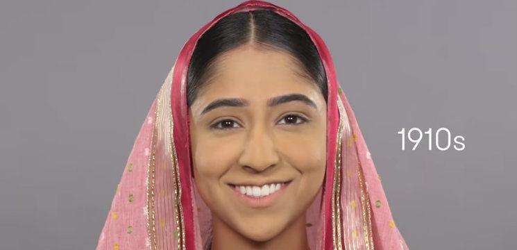 Foto: Cum a evoluat frumuseţea indiencelor în 100 de ani! Video