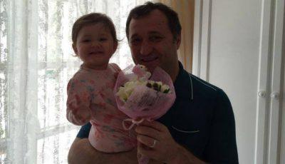 Fiica Angelei Gonţa şi a lui Vlad Filat este astăzi omagiată!