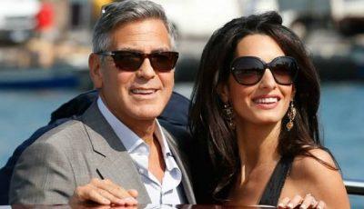 George Clooney va deveni pentru prima dată tată