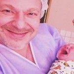 Foto: Vladimir Presneakov a devenit tată pentru a doua oară