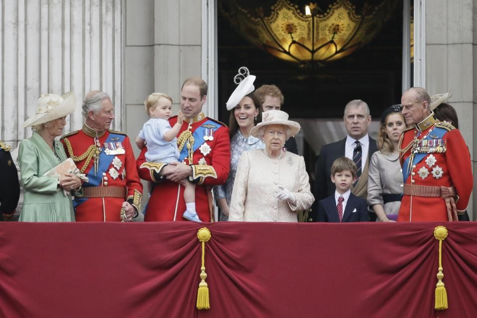 Britain Royals Trooping The Colour