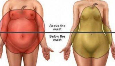 Ai silueta în formă de măr sau pară? Cum slăbeşti mai uşor