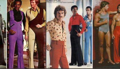Cum se îmbrăcau bărbații în anii '70!