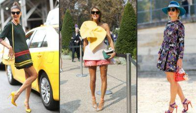Cum să purtăm rochiile mini!