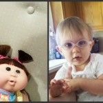 Foto: Asemănare izbitoare între copii şi păpuşile lor preferate!