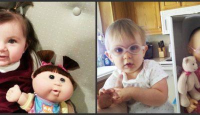 Asemănare izbitoare între copii şi păpuşile lor preferate!