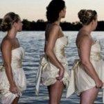 Foto: Domnişoarele de onoare care le-au ruinat nunta! Poze