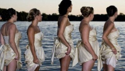 Domnişoarele de onoare care le-au ruinat nunta! Poze
