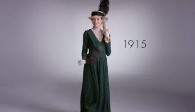 Cum s-a schimbat moda într-o sută de ani!