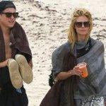 Foto: Sex pe plajă: Heidi Klum se distrează cu iubitul său cu 14 ani mai mic!